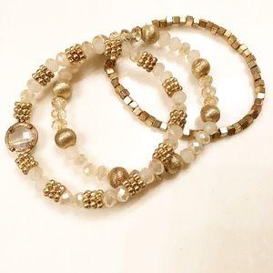 Francesca's Bracelet Stack